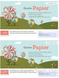 Bild Flyer Gratis-Papier