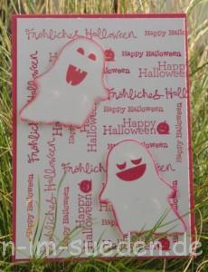 Geburtstags - Halloweenkarte 2