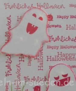 Geburtstags - Halloweenkarte 3