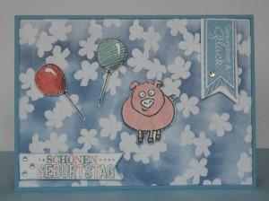 Schweinchenkarte 1