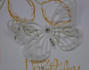 Zitronenkarte m. Schmetterling 2