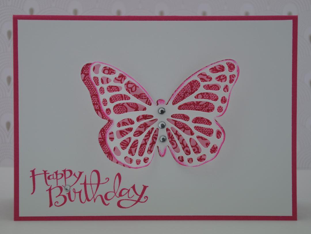 Schmetterlingskarte 3