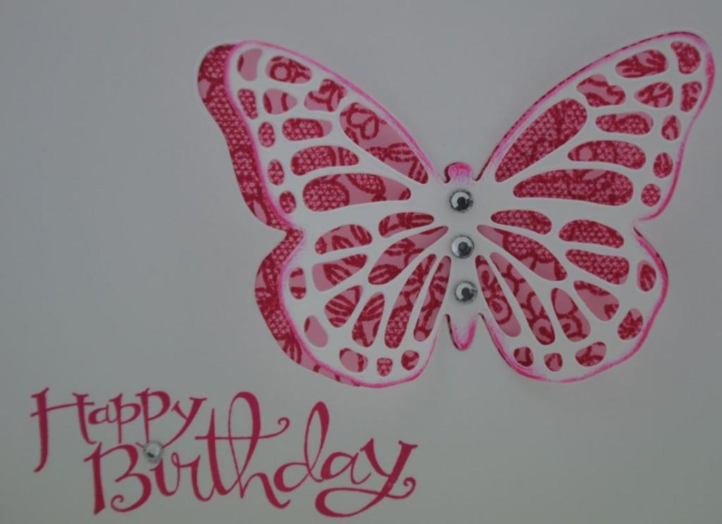 Schmetterlingskarte 4