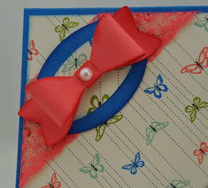 Geburtstagskarte mit Schmetterlingen 3