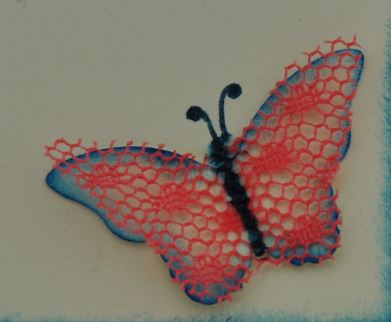 Geburtstagskarte mit Schmetterlingen 4