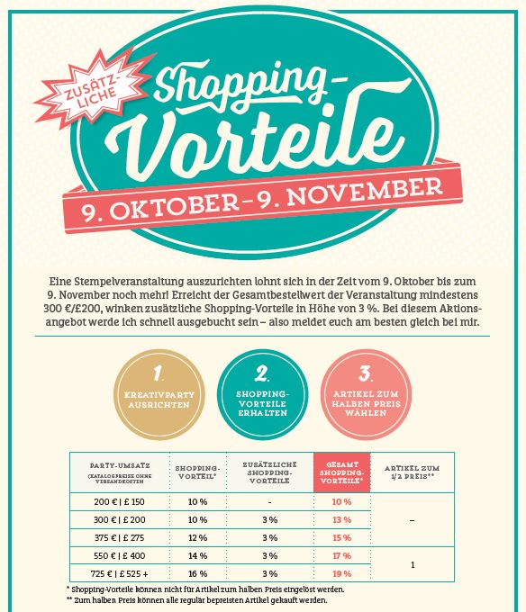 Shopping-Vorteile Oktober 2015