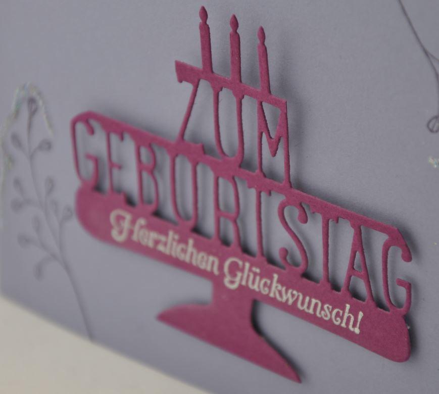 Geburtstagskarte mit Fuchs 2